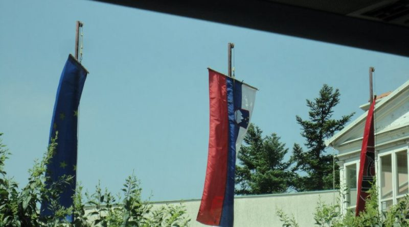 Entrando na Eslovênia