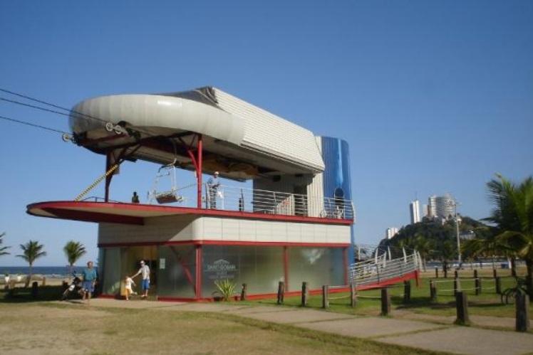 Ponto de partida do teleférico de São Vicente