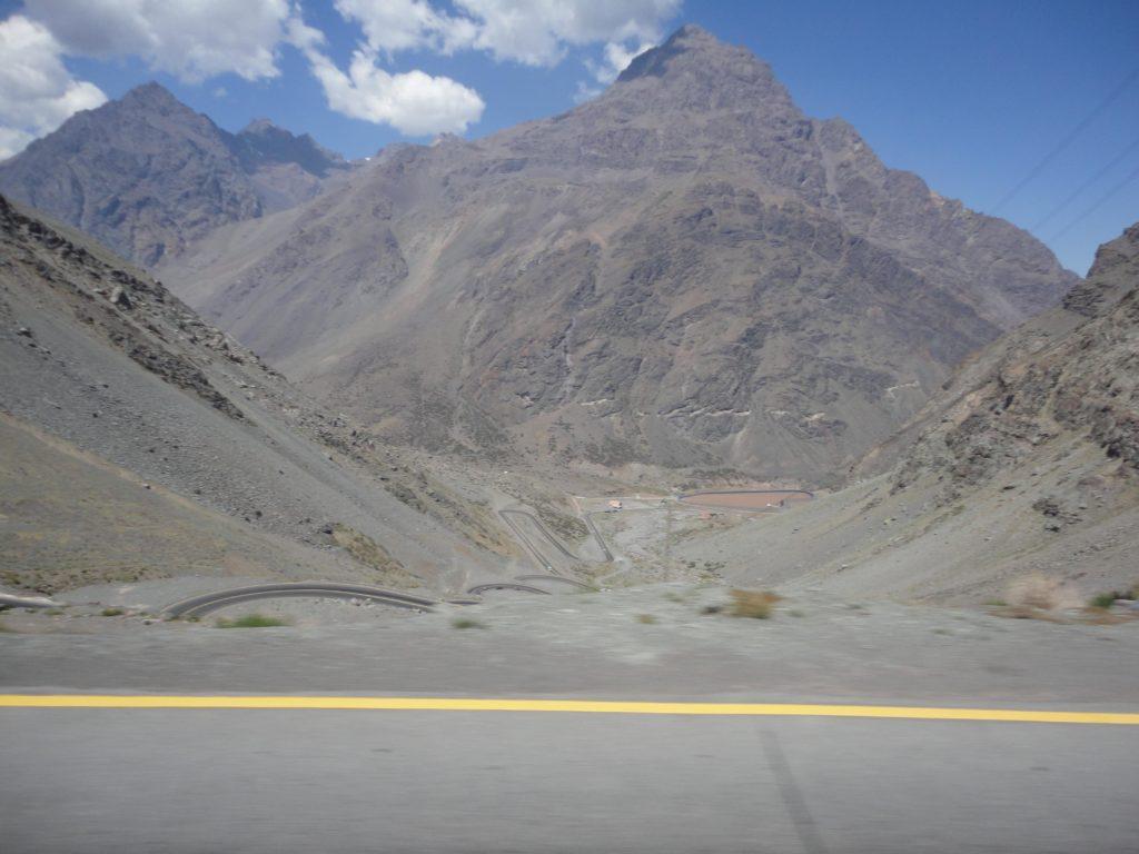 travessia da Cordilheira dos Andes