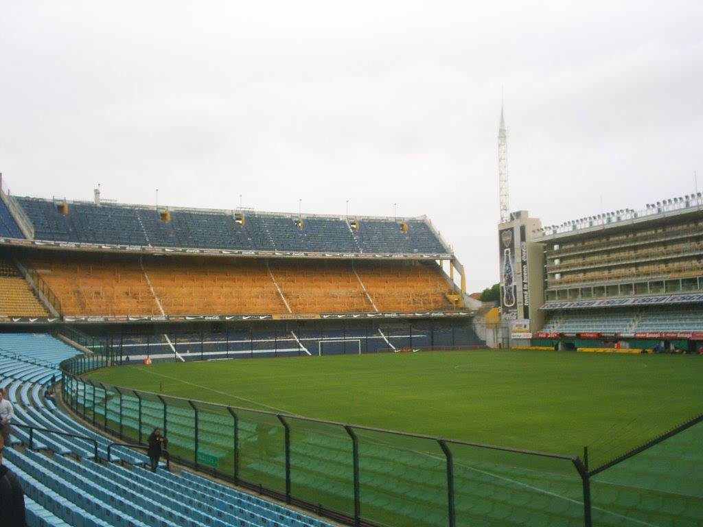 Visita à parte interna do Estádio La Bombonera