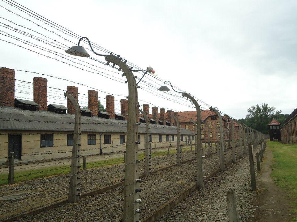 Auschwitz - antigo campo de concentração na Polônia.