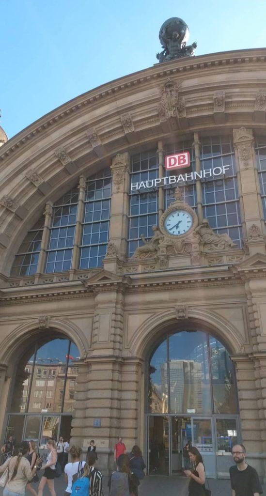 Estação Central de trem de Frankfurt