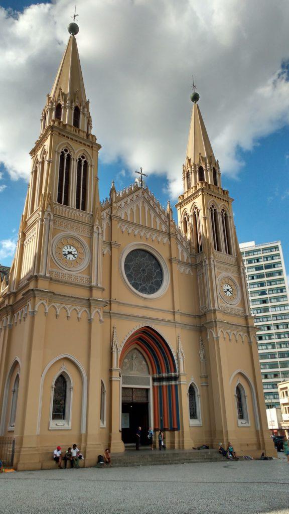 Catedral - Centro histórico - o que fazer em Curitiba