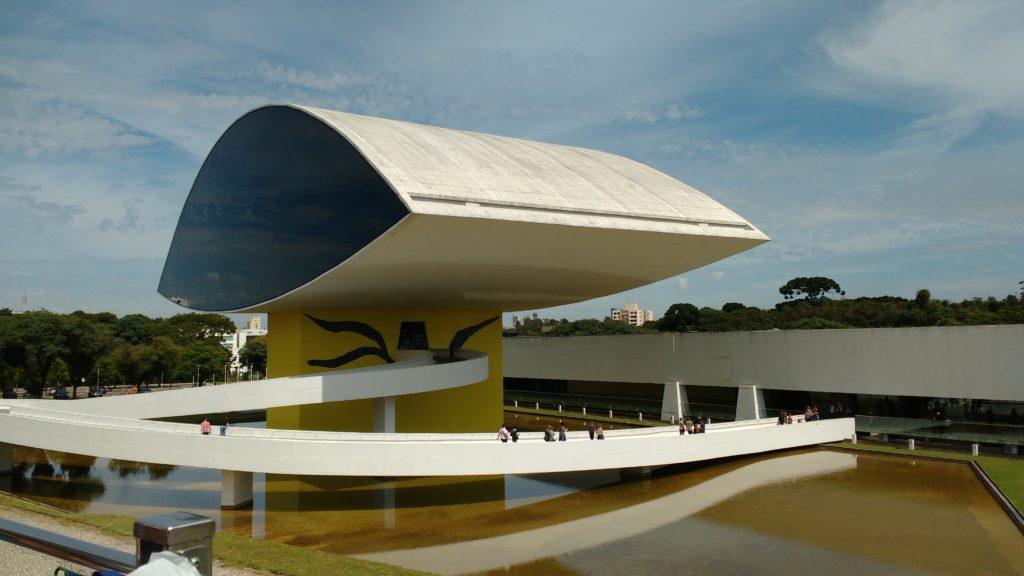 Museu Oscar Niemeyer - o que fazer em Curitiba