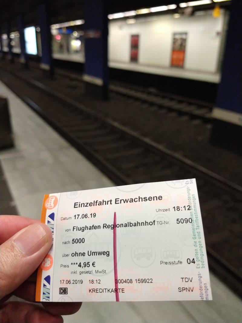 Ticket trem Frankfurt - Como chegar do Aeroporto até a Estação Central de trem