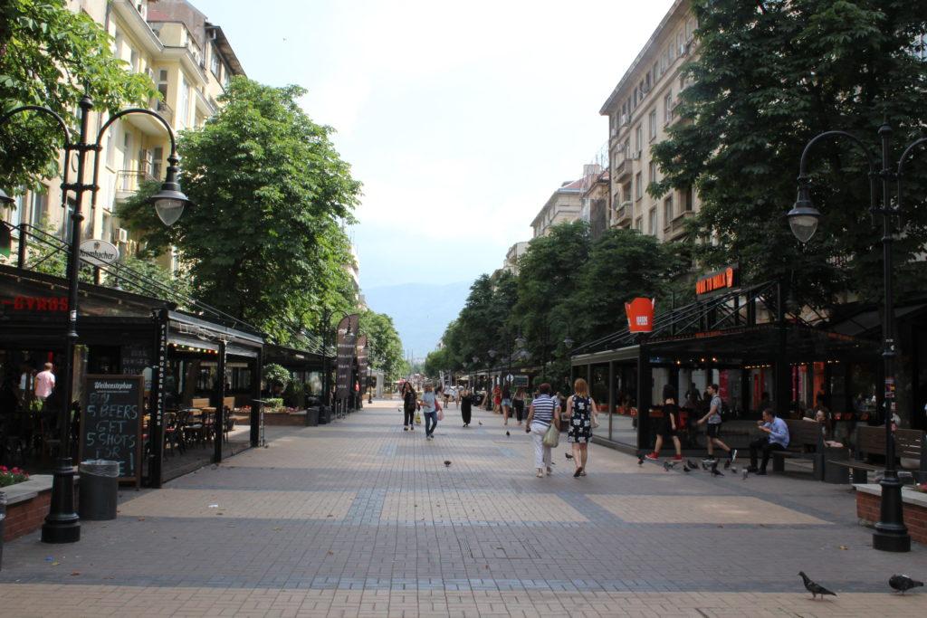 Vitosha Boulevard - o que fazer em Sofia
