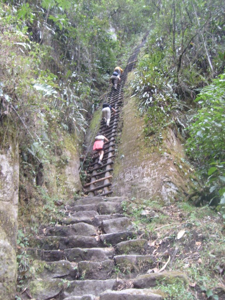 Machu Picchu trilha alternativa